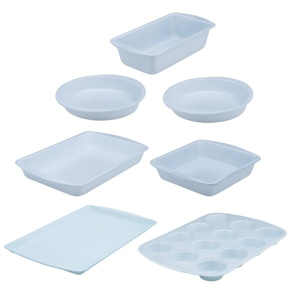 7 Piece Non-Stick Bakeware Set by Range Kleen