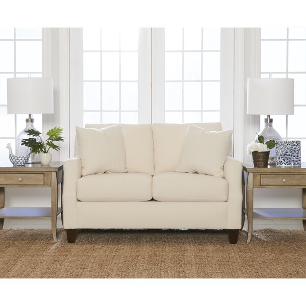 Best Reviews Brandi Loveseat by Wayfair Custom Upholstery by Wayfair Custom Upholstery��