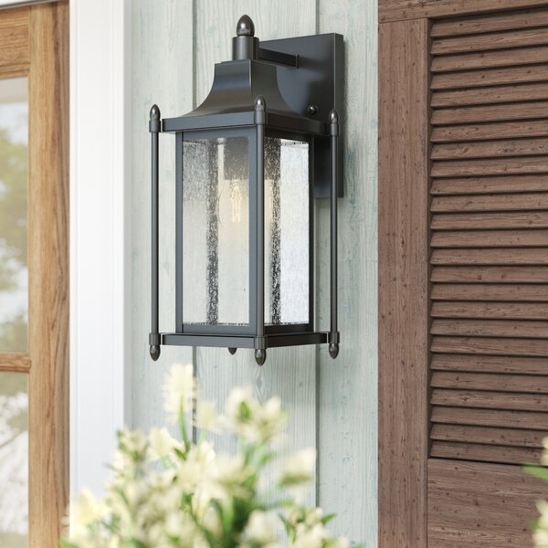Abbott 1-Light Outdoor Wall Lantern by Sol 72 Outdoor