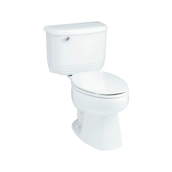 Riverton ADA 1.6 GPF Luxury Height Elongated 2 Piece Toilet by Sterling by Kohler