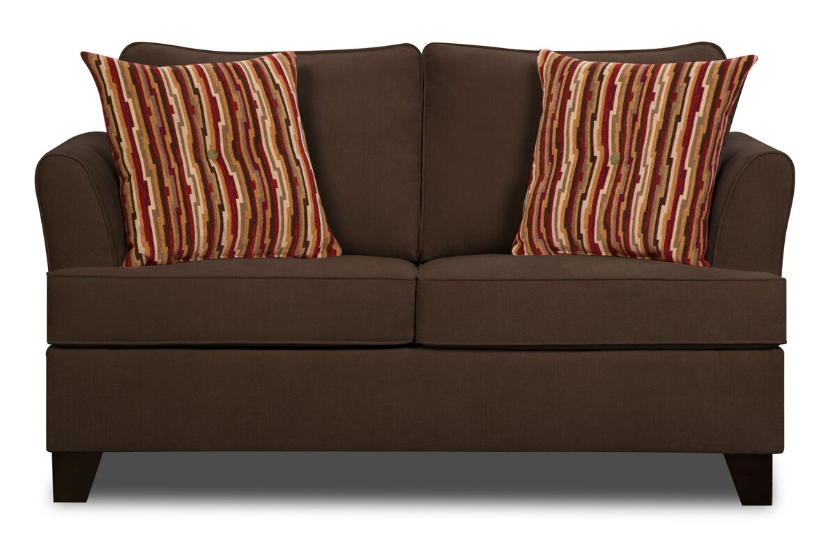 Simmons Upholstery Antin Loveseat Sleeper Sofa Reviews Birch Lane ~ Simmons Leather Sofa Review