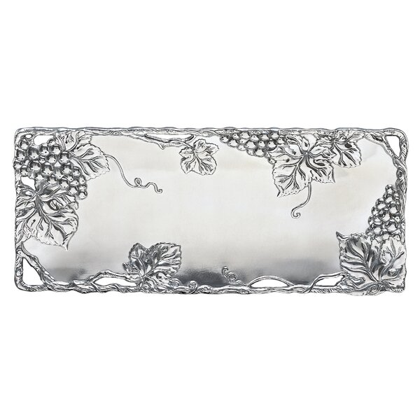 Grapevine Oblong Serving Tray by Arthur Court Designs