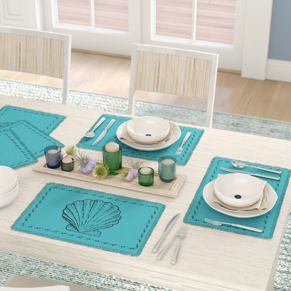 Middlebury Placemat (Set of 6) by Beachcrest Home