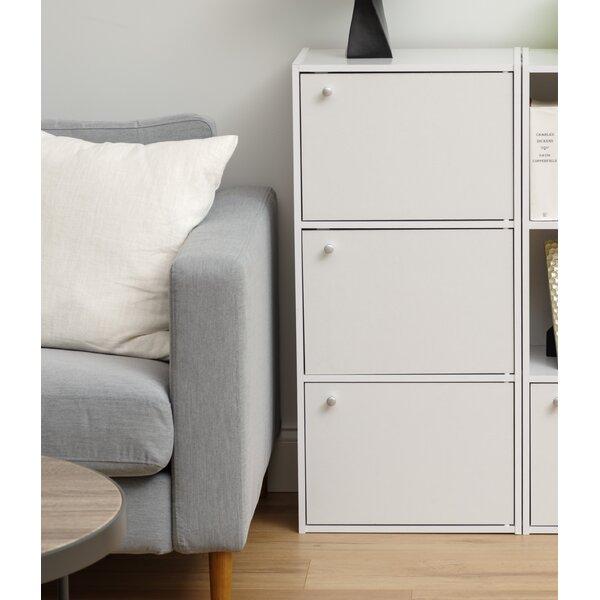 34.67 H x 16.35 W 3 Tier Storage Cabinet by IRIS USA, Inc.