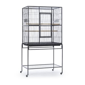 Pet Products Wrought Iron Flight Cage with Stand