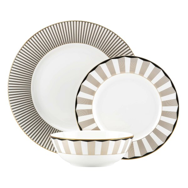 Audrey 3 Piece Place Setting, Service for 1 by Lenox