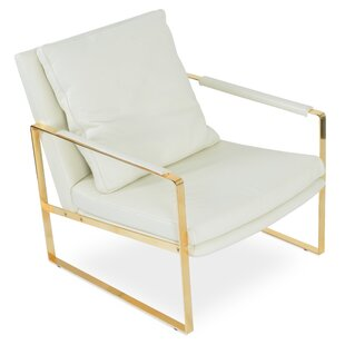 Zara Gold Armchair  sc 1 st  Wayfair & Gold White Accent Chairs Youu0027ll Love | Wayfair