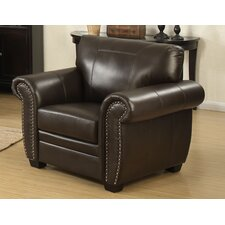 Louis Stationary Club Chair by AC Pacific