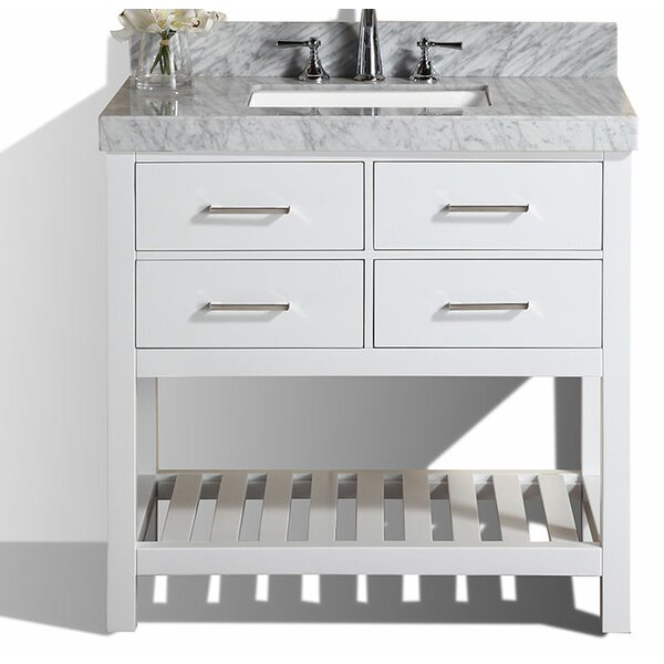 Laguna 41 Single Modern Bathroom Vanity Set by Pacific Collection