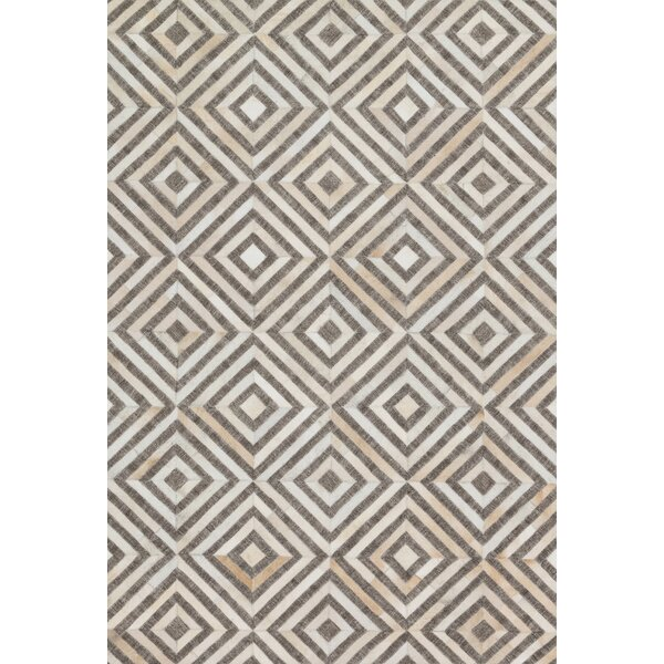 Winnett Hand-Woven Taupe / Sand Area Rug by Brayden Studio