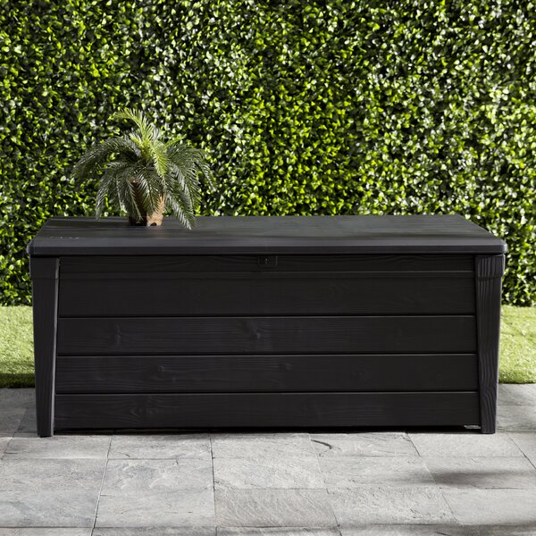 Brightwood 120 Gallon Resin Deck Box By Keter.