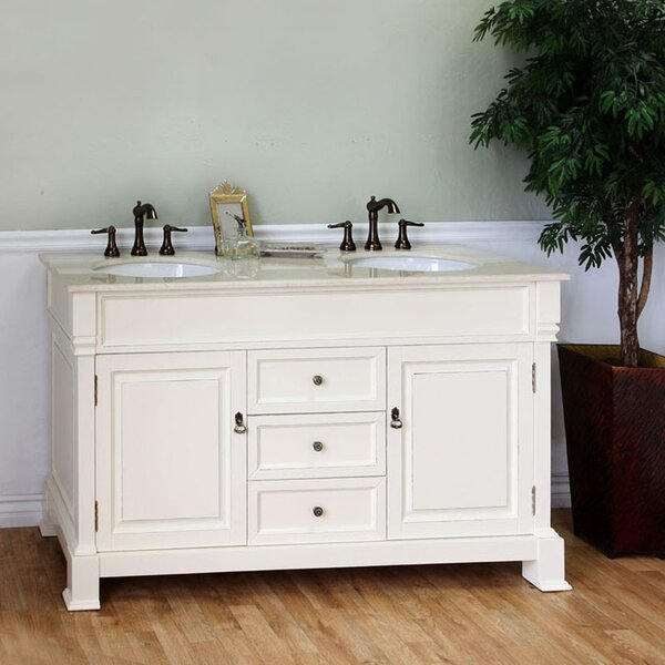Halliday 60 Double Bathroom Vanity Set by Longshore Tides