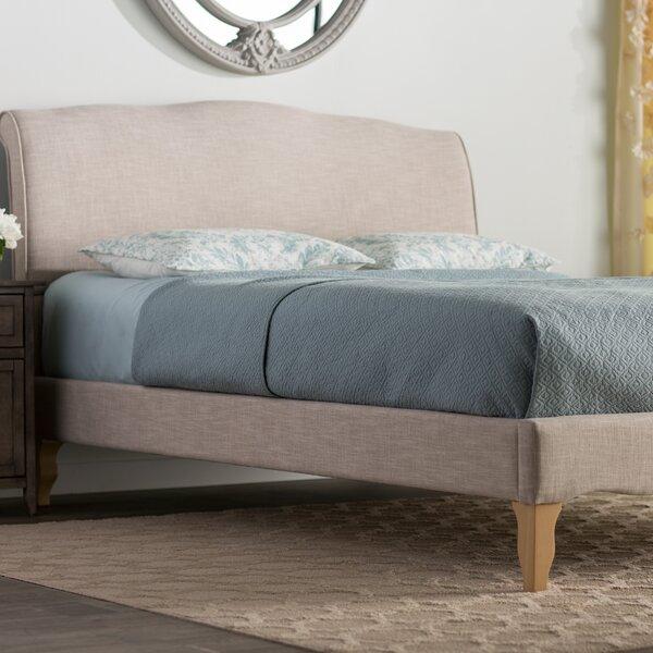Sevan Upholstered Platform Bed by Lark Manor