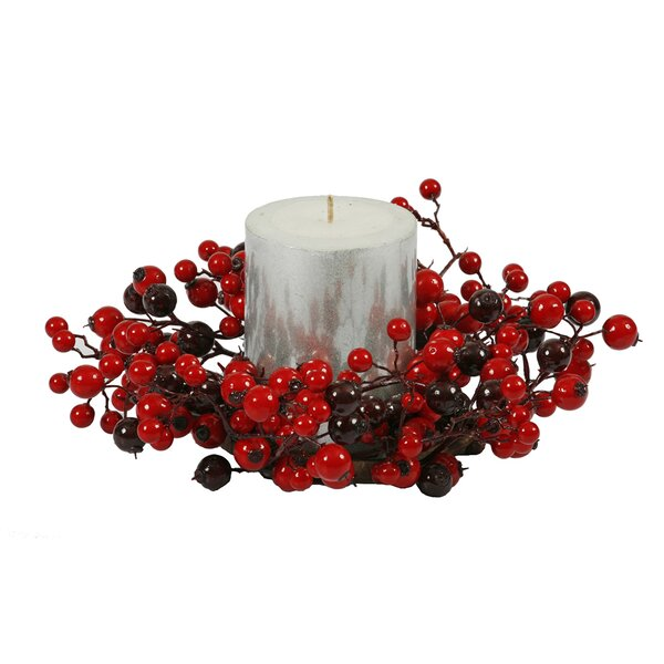 Mixed Berry Candle Ring by The Holiday Aisle