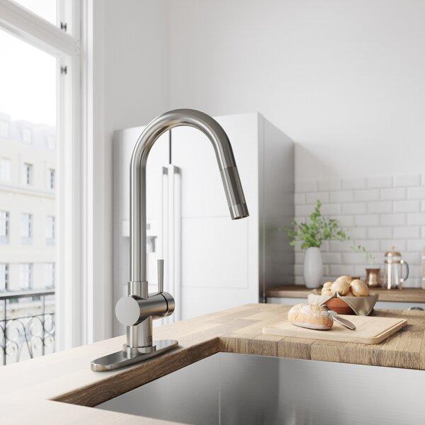 Gramercy Pull Down Single Handle Kitchen Faucet by VIGO