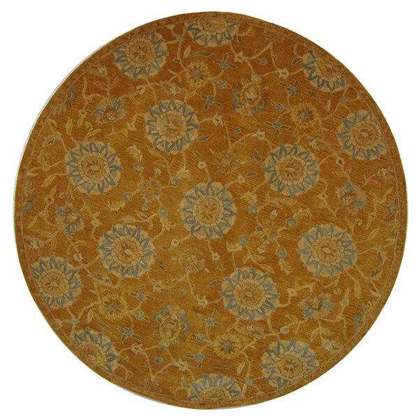 Anatolia Gold/Blue Area Rug by Safavieh