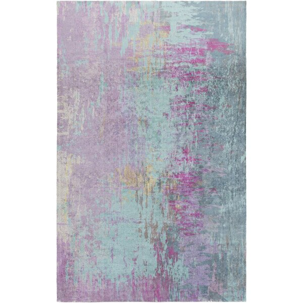 Arthurs Blue/Purple Area Rug by Mercury Row