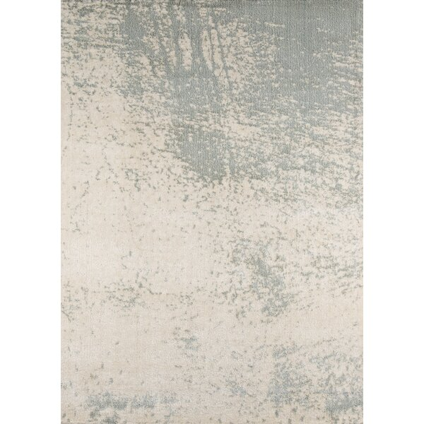 Stanley Ivory/Gray Area Rug by Wade Logan