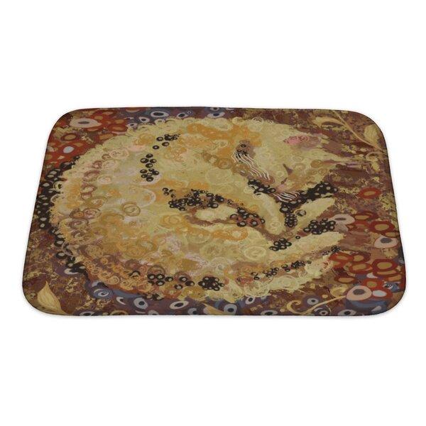 Animals Cat of Gustav Klimt Inspired Style Bath Rug by Gear New
