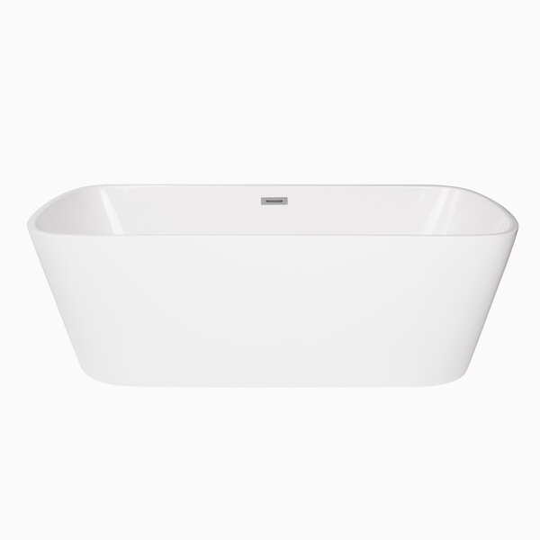 Canaveral 67 x 31 Freestanding Soaking Bathtub by Maykke
