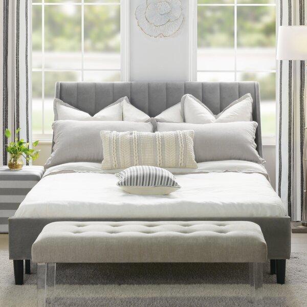 Woodvale Upholstered Platform Bed by Brayden Studio