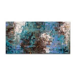 Ocean Paradise by Carmen Guedez Painting Print on Canvas by Artefx Decor