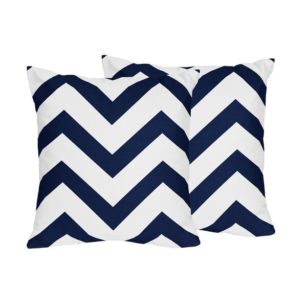 Chevron Throw Pillow (Set of 2) by Sweet Jojo Designs