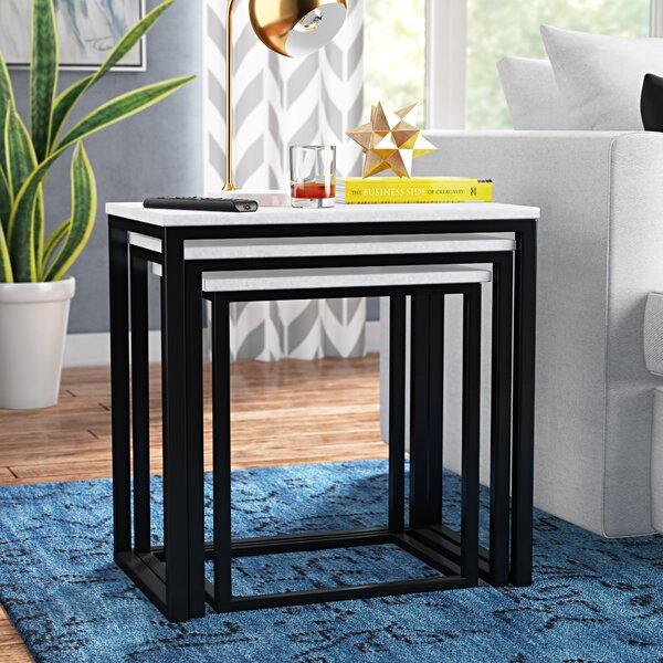 Isberga 3 Piece Nesting Tables By Brayden Studio
