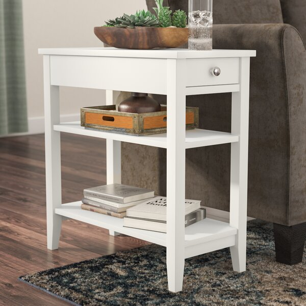 Inman End Table With Storage By Three Posts