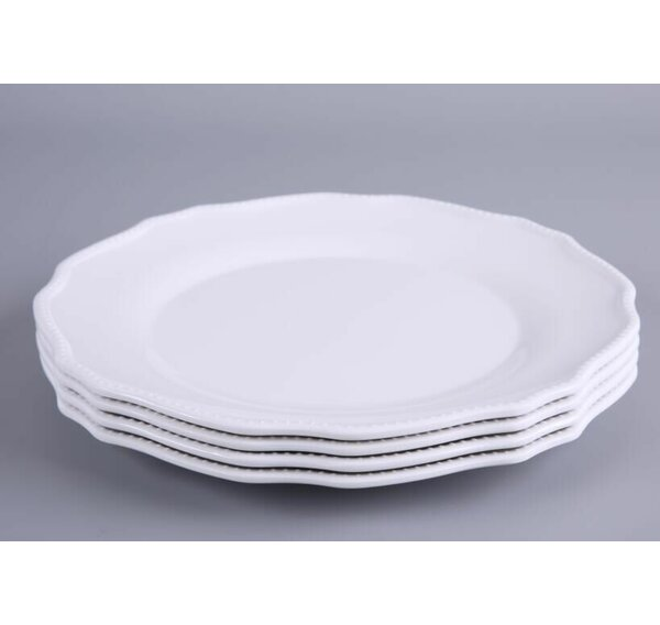 Keper 11 Melamine Dinner Plate (Set of 4) by Ophelia & Co.