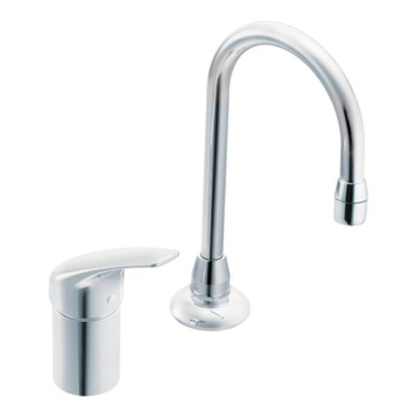 M-Dura Single Handle Centerset Bar Faucet by Moen