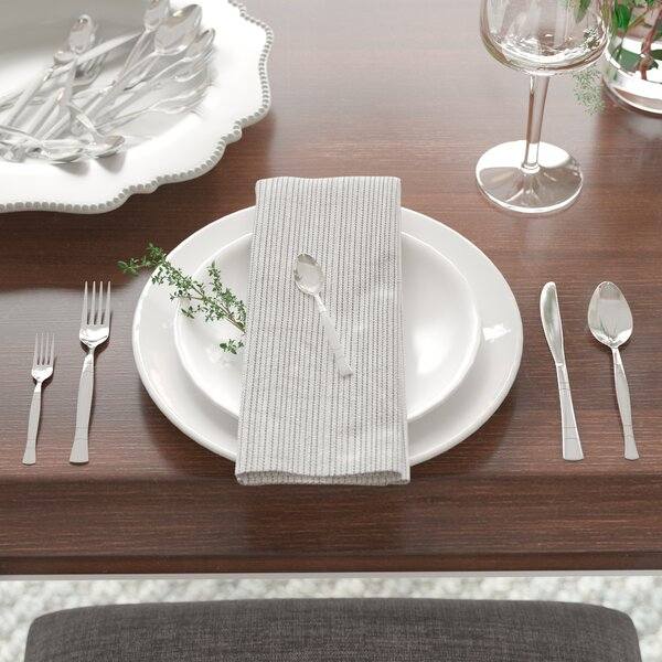 Fulvia 20 Piece Stainless Steel Flatware Set by Mint Pantry