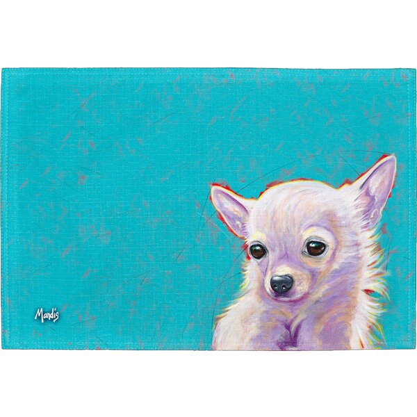 Chihuahua Placemat (Set of 2) by East Urban Home