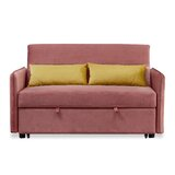 Aryaa Velvet 57 Square Arm Sofa Bed by Latitude Run