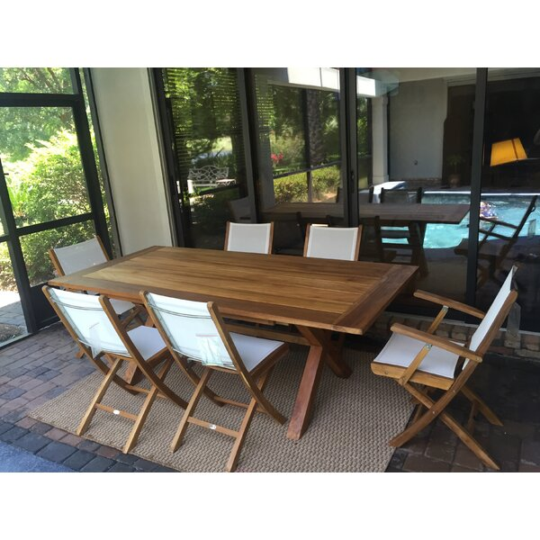 Chumley Solid Wood Dining Table by August Grove