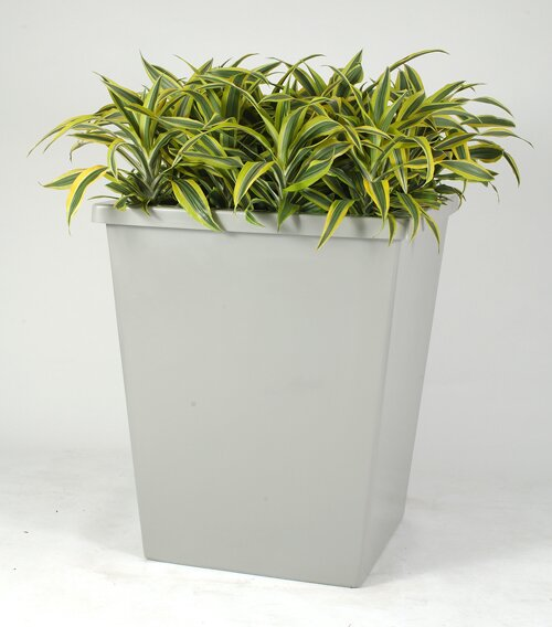 Boca Plastic Pot Planter by Allied Molded Products