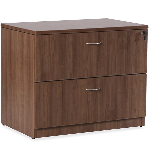 Essentials Series Laminate 2-Drawer Lateral Filing Cabinet by Lorell