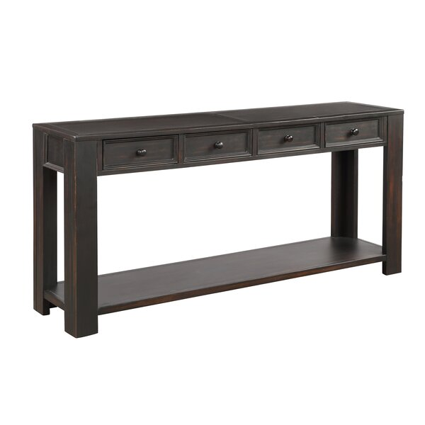 Rosalind Wheeler Black Console Tables