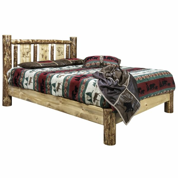 Shelley Bear Platform Bed by Loon Peak