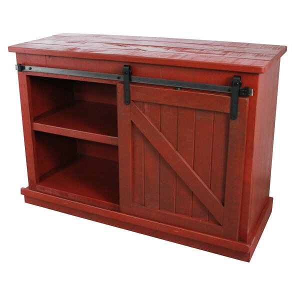 Caran Solid Wood TV Stand For TVs Up To 50