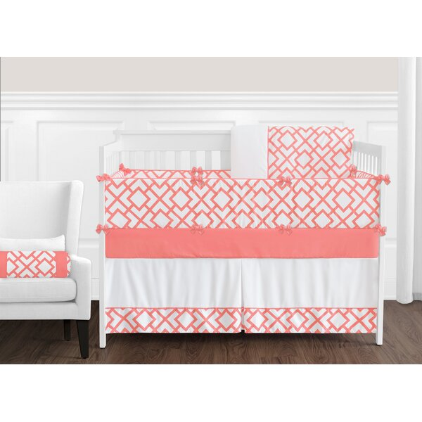 Mod Diamond 9 Piece Crib Bedding Set by Sweet Jojo Designs
