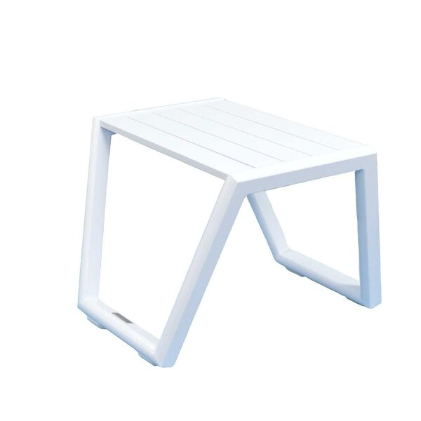Aruba Aluminum Side Table by Feruci