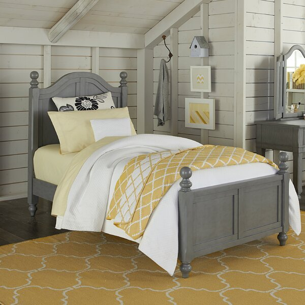 Javin Arch Panel Bed with Trundle by Harriet Bee