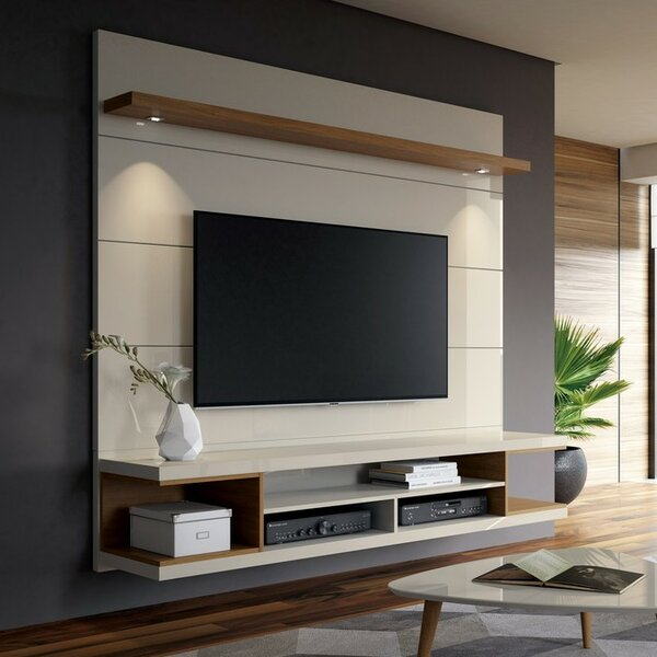 Lemington Floating Entertainment Center For TVs Up To 60