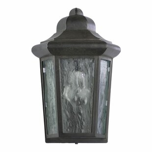 Price comparison Mehar 1-Light Glass Shade Outdoor Flush Mount By Beachcrest Home