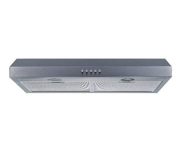 30 250 CFM Ducted Under Cabinet Range Hood by Winflo
