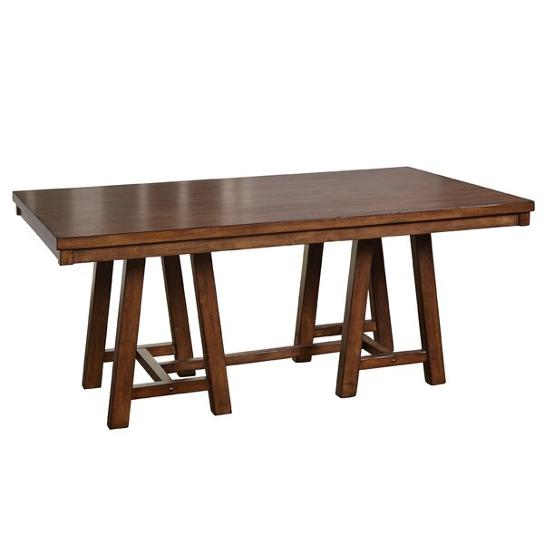 Galena Solid Wood Dining Table by August Grove August Grove