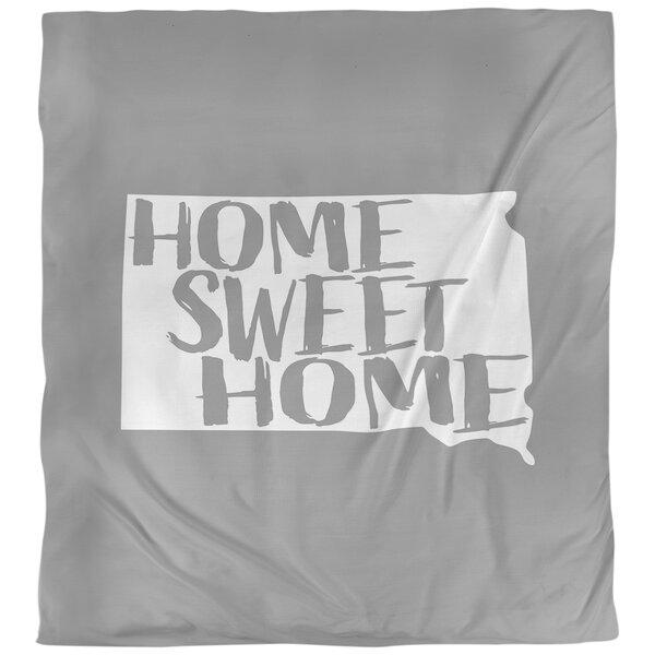 Home Sweet South Dakota Single Reversible Duvet Cover