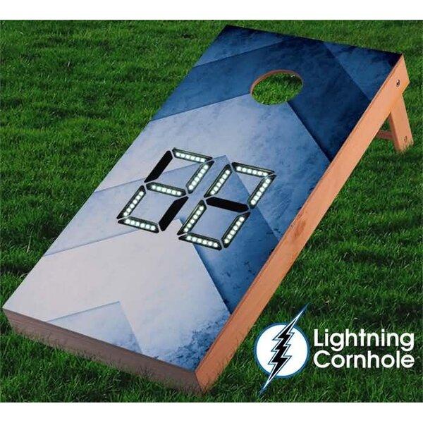 Electronic Scoring Arrow Cornhole Board by Lightning Cornhole