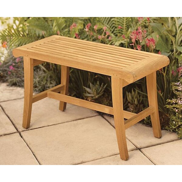 Magruder Grade-A Luxurious  Teak Garden Bench by Highland Dunes